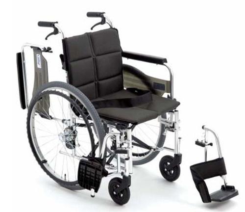 [미키] SMART-W 알루미늄휠체어 (팔걸이젖힘/발판착탈/등받이꺽기) 수동휠체어 경량형휠체어 고급휠체어 가벼운휠체어 접이식휠체어 장애인휠체어