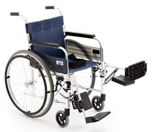 [미키] MIKI EV-3 거상형 알루미늄휠체어 (다리각도조절)|거상휠체어 특수휠체어 알루미늄거상휠체어 수동휠체어 장애인휠체어