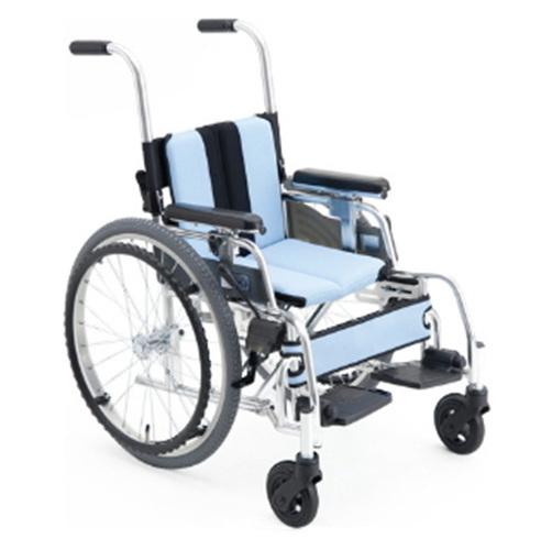 [미키] GENIE 어린이용휠체어 알루미늄휠체어 (발판높이조절/등판꺽기/팔걸이높낮이조절)|어린이휠체어 아동휠체어 소아휠체어 아동용휠체어