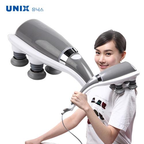 [유닉스] 전기마사지기 솔리드 MX-2900 (타격봉교체) 손안마기 핸드안마기 어깨안마기 허리안마기 등안마기 발바닥안마기 종아리안마기