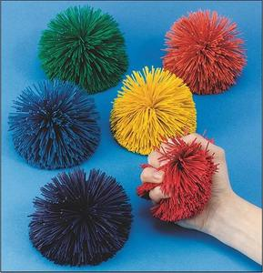 쿠쉬볼6개세트/Spectrum™ 4-1/2 Kooshie Ball, Solid Color(set of 6)/W9214