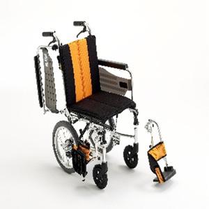 [미키] SKT-2 알루미늄휠체어 (좁은장소에서도 수납성이 뛰어난 컴팩트 휠체어/팔걸이젖힘/발판착탈)|미키휠체어 장애인휠체어 고급형휠체어 알미늄휠체어