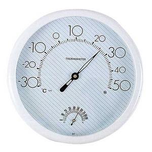 건강저울나라 온습도계 SH-001 원형 25cm (온도계 습도계 동시사용)
