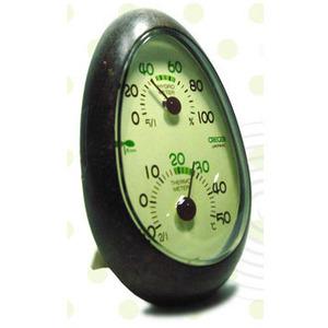 [일본 크레세르] 친환경 온습도계 CR-133E 온도 습도 측정기 측정계 계측기