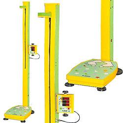 [지테크] 어린이용 자동측정기 GL-300P (60~150cm 측정가능/BMI측정가능) 몸무게 비만도 신장기 신장계 신장측정기 신장측정계 키재기자 키재기측정도구 (프린터 옵션선택가능)