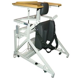 [pampas] WST-100 팜파스 기립훈련보조기 Stand in Table WST100 (높낮이자동) 기립기 보행기 장애인용품 실버용품 환자용품 WST-100