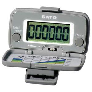 [SATO] 사토 만보계 BP-617 대형액정화면 간단한작동법 보수