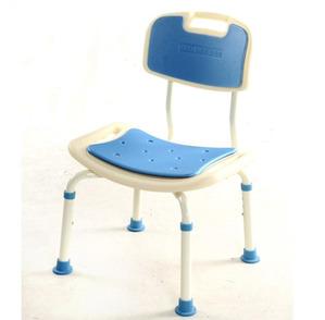 [동해상사] 접이식목욕의자 HS-128 (등받이목욕의자/높이조절가능) 샤워의자 샤워체어 휴대용목욕의자